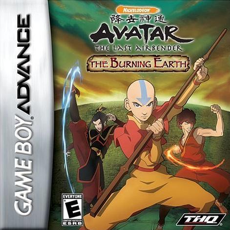 Portada de la descarga de Avatar: The Last Airbender – The Burning Earth
