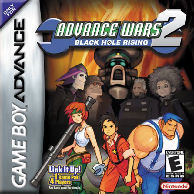 Portada de la descarga de Advance Wars 2: Black Hole Rising
