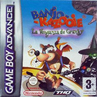 Portada de la descarga de Banjo Kazooie – La venganza de Grunty