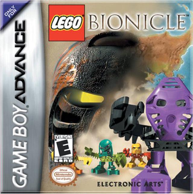 Portada de la descarga de Bionicle