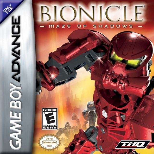 Portada de la descarga de Bionicle: Maze of Shadows
