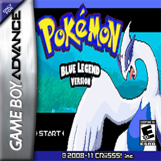 Portada de la descarga de Pokemon Blue Legend