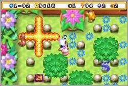 Imagen de la descarga de Bomberman MAX 2: Blue Advance