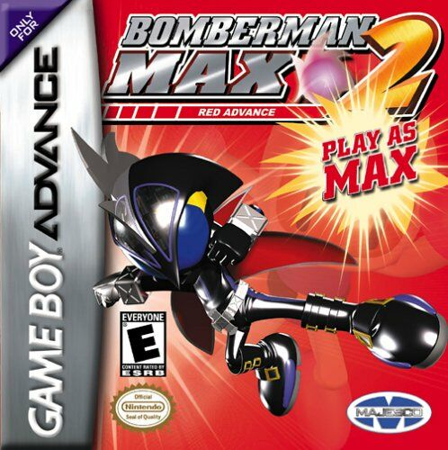 Portada de la descarga de Bomberman MAX 2: Red Advance