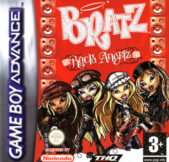 Portada de la descarga de Bratz: Rock Angelz
