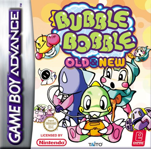 Portada de la descarga de Bubble Bobble: Old and New