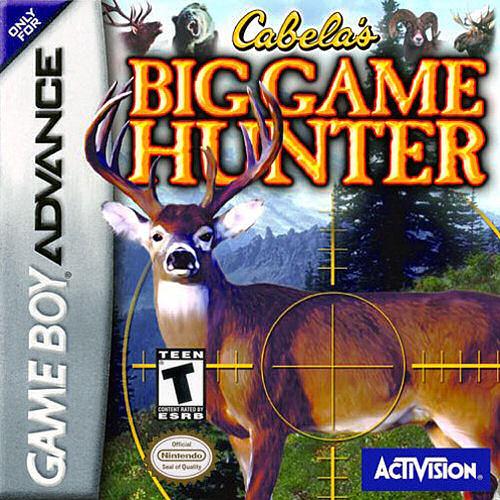 Carátula del juego Cabela's Big Game Hunter (GBA)