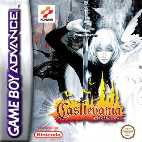 Portada de la descarga de Castlevania: Aria of Sorrow