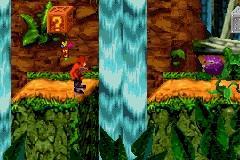 Pantallazo del juego online Crash Bandicoot SX (GBA)