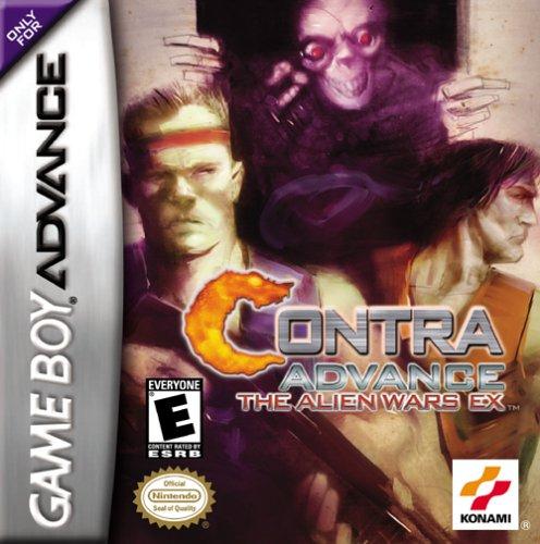 Carátula del juego Contra Advance The Alien Wars EX (GBA)