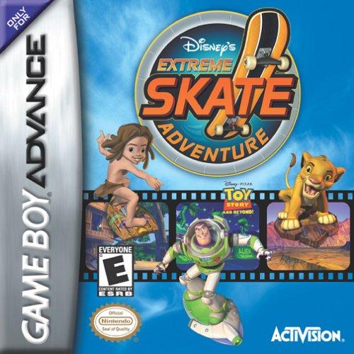 Portada de la descarga de Disney's Extreme Skate Adventure