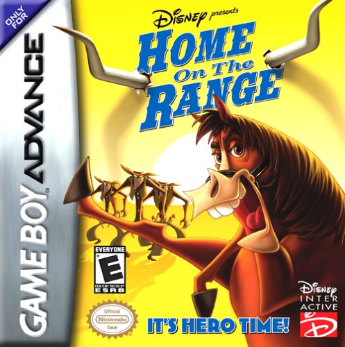 Portada de la descarga de Disney Presents Home on the Range