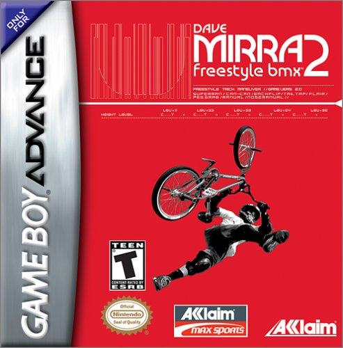 Portada de la descarga de Dave Mirra Freestyle BMX 2