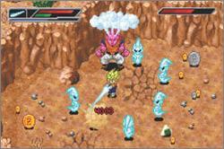 Pantallazo del juego online Dragon Ball Z Buu's Fury (GBA)