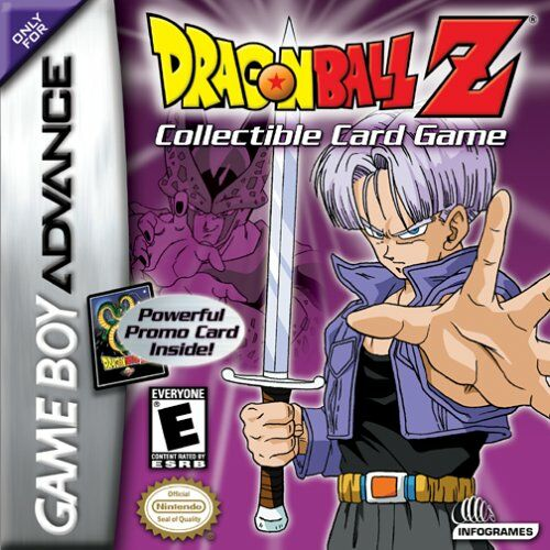 Carátula del juego Dragon Ball Z Collectible Card Game (GBA)