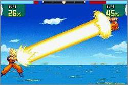 Pantallazo del juego online Dragon Ball Z Supersonic Warriors (GBA)