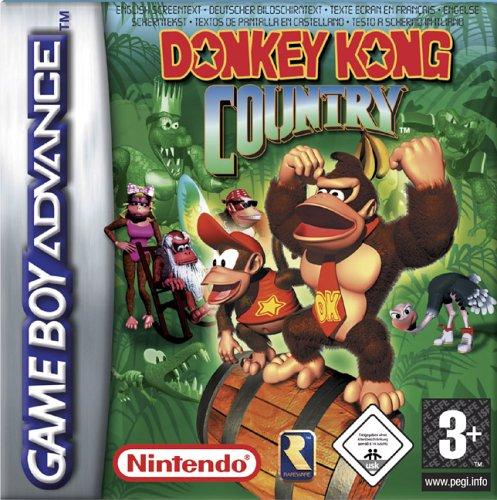 Portada de la descarga de Donkey Kong Country