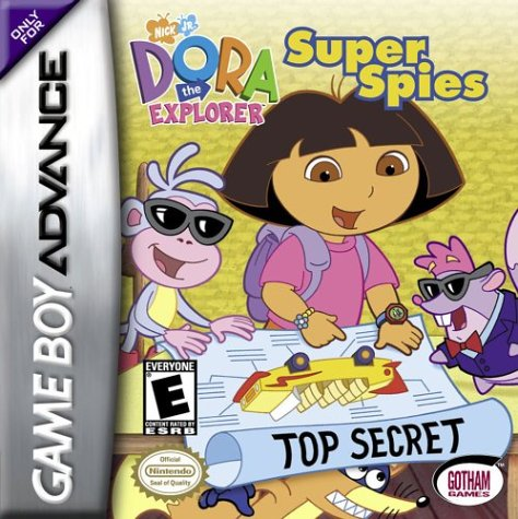 Portada de la descarga de Dora the Explorer: Super Spies