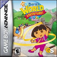 Portada de la descarga de Dora the Explorer: Dora's World Adventure