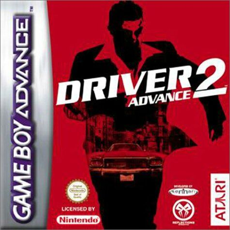 Carátula del juego Driver 2 Advance (GBA)