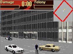 Pantallazo del juego online Driver 2 Advance (GBA)