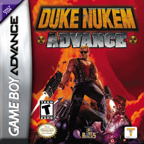 Portada de la descarga de Duke Nukem Advance