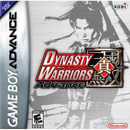 Portada de la descarga de Dynasty Warriors Advance