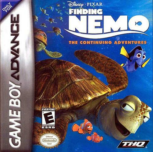 Portada de la descarga de Disney-Pixar's Finding Nemo: The Continuing Adventures