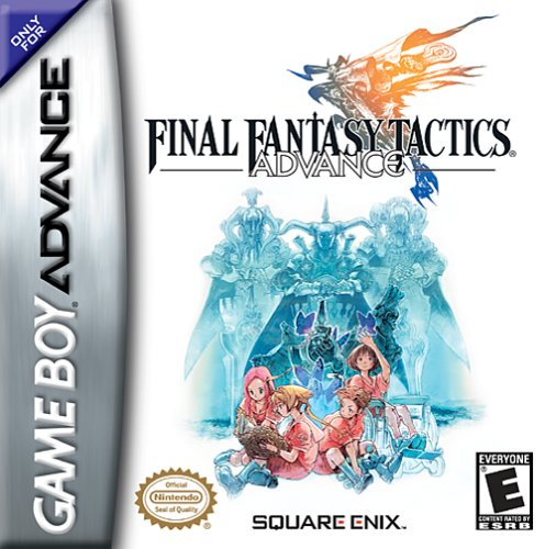 Portada de la descarga de Final Fantasy Tactics Advance