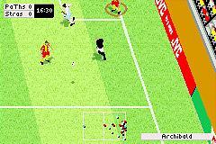Pantallazo del juego online FIFA Football 2003 (GBA)