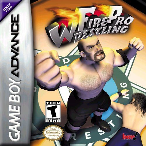 Portada de la descarga de Fire Pro Wrestling
