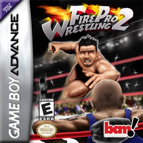 Portada de la descarga de Fire Pro Wrestling 2