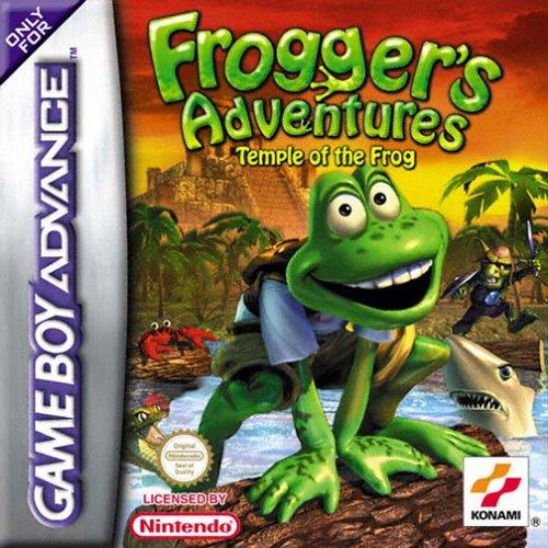 Portada de la descarga de Frogger's Adventures: Temple of the Frog