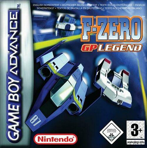Portada de la descarga de F-Zero GP Legend