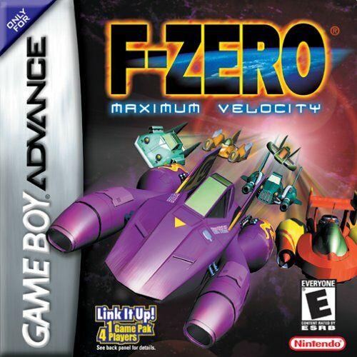 Carátula del juego F-Zero Maximum Velocity (GBA)