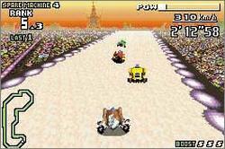 Pantallazo del juego online F-Zero Maximum Velocity (GBA)