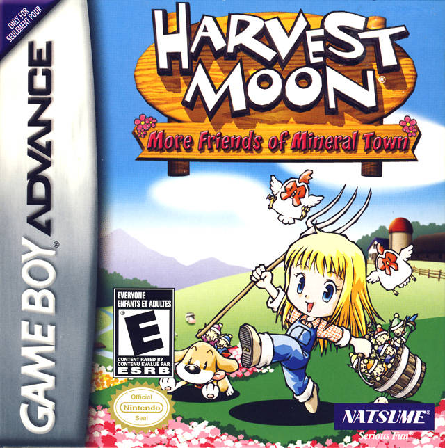 Portada de la descarga de Harvest Moon: More Friends of Mineral Town