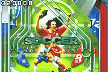 Pantallazo del juego online Hardcore Pinball (GBA)