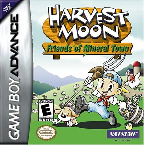 Portada de la descarga de Harvest Moon: Friends of Mineral Town