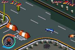 Pantallazo del juego online Hot Wheels All Out (GBA)