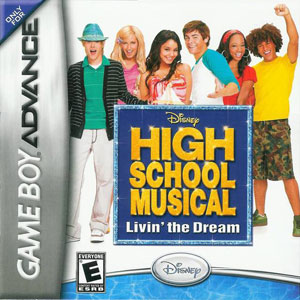 Portada de la descarga de Disney High School Musical: Livin' the Dream