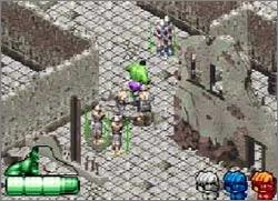 Pantallazo del juego online The Incredible Hulk (GBA)
