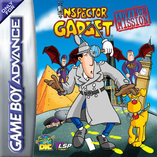 Portada de la descarga de Inspector Gadget: Advance Mission