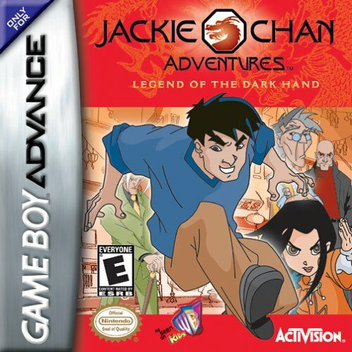 Portada de la descarga de Jackie Chan Adventures: Legend of the Dark Hand