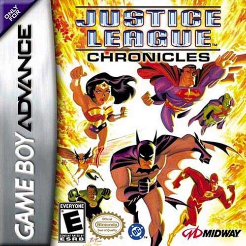 Portada de la descarga de Justice League: Chronicles