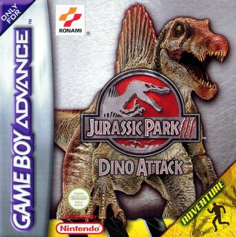 Portada de la descarga de Jurassic Park III Dino Attack