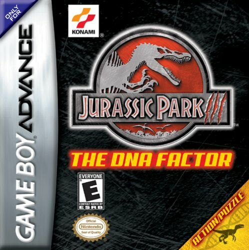 Portada de la descarga de Jurassic Park III: The DNA Factor