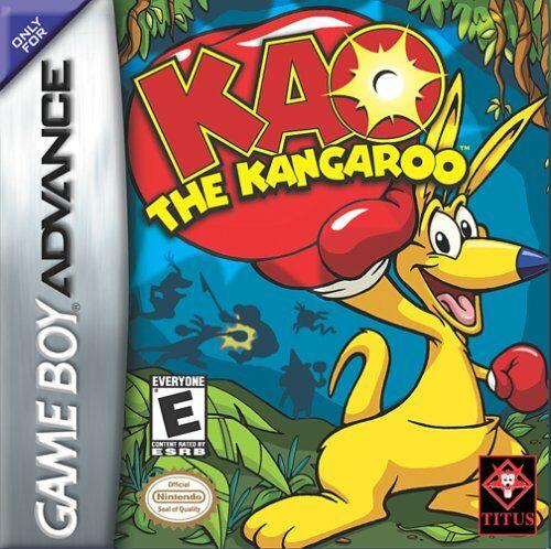 Portada de la descarga de Kao the Kangaroo