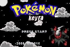 Carátula del juego Pokemon Keyra (GBA)