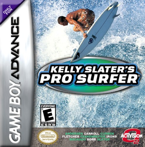 Carátula del juego Kelly Slater's Pro Surfer (GBA)